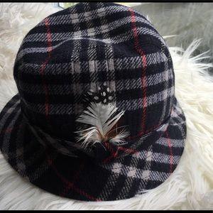 Vintage Authentic Burberry Hat